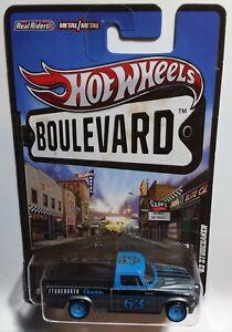 Hot wheels Boulevard Legends '63 Studerbaker Real Riders, Metal on Metal