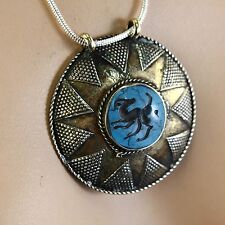 Belly Dance ATS tribal PENDANT (Chain not included) Afghani Kuchi 731j1