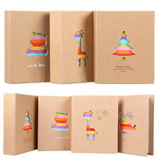 100 Pockets Kids Baby Memo Memory 7inch Photo Picture Storage Album Case Gift