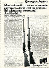 1975 Print Ad of Remington Reports Model 742 & 742BDL Custom Woodsmaster Rifle