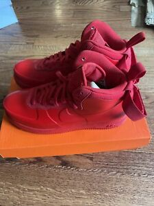 Nike Air Force 1 Foamposite Cup NA Men's Size 9.5 University Red BV1172 600