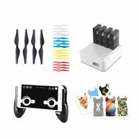 DJI Tello Accessories 4 pack combo: Gamepad Joystick Charger Propellers Sticker