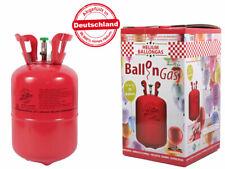 Helium Ballongas Heliumgas Einweg für ca. 50 Luftballons 0,42 qm³ Folienballons