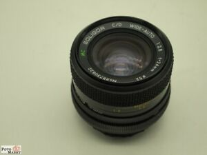 Canon fd Wide Angle Lens Soligor 2,8/24 MM (52mm) Lens Macro 1:4 For A1, AE1