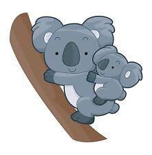 Oso Koala Oz Aussie australiano Sticker Etiqueta de vinilo gráfico Etiqueta V2
