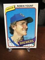 1980 Topps Robin Yount Milwaukee Brewers #265 Baseball Card
