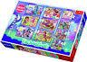 Trefl 10 IN 1 20, 35 et 48 Pièce Mattel Enchantimals Sol Puzzle Neuf