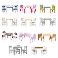 Kindermöbel tisch und stühle  Tische und Stühle Set aus Massivholz für Kinder | eBay