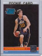 2010 Panini Donruss # 236 Gordon Hayward Jazz Rated Rookie Quantity Available