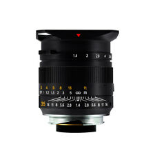 TTArtisan 35mm F1.4 Full frame Lens for Leica M-Mount Cameras Leica M2 M3 M4-2