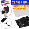 100Pcs Sewing Elastic Band Cord with Adjustable Buckle for DIY Mask Sewing USA