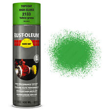 x16 Ultra-High Coverage Rust-Oleum Yellow Green Spray Paint Hard Hat Ral 6018