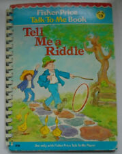 Fisher Price Talk To Me Book #19, Tell Me a Riddle, 1979