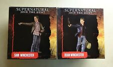 *Sam & Dean Winchester Supernatural Mini Masters Figure Set by Quantum Mechanix*