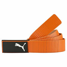New 2016 PUMA Golf Extension Fitted Belt Rickie Fowler COLOR: Orange SIZE: Large