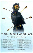 The Griswolds Low Lives Tour 2017 Ltd Ed Rare Poster +Free Indie Rock Poster!