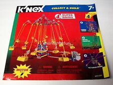 MICRO / KNEX INSTRUCTION MANUAL ONLY #12072 Super Swing Collect & Build #4 Book