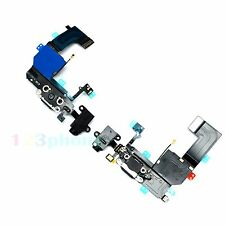 HEADPHONE AUDIO JACK & CHARGE CHARGER CHARGING FLEX CABLE FOR IPHONE 5C #F-452
