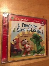 BABY GENIUS Favorite Sing-A-Longs CD BOX SET is BRAND NEW