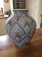 Beautiful, unusual ceramic vase