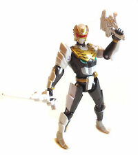 Morphin Megaforce Power Rangers ROBOT RANGER & weapon toy figure RARE