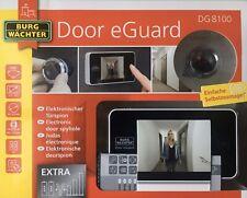 BURG WÄCHTER DG 8100 Elektronischer Türspion Door eGuard 3,2 TFT Monitor Kamera