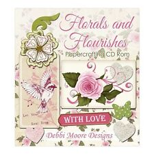 Debbi Moore Designs Florals and Flourishes Papercrafting CD Rom (324279)