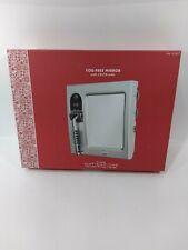 Fog-free Mirror With Am/Fm Radio.