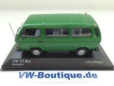 + VOLKSWAGEN VW T3 b Bus Transporter grün von Minichamps in 1:43 400055000
