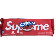Supreme Oreo Cookies (3 cookies in pack) IN HAND Fast Shipping