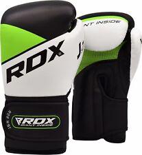 RDX Kinder Boxhandschuhe Leder Sandsack Training Boxen Handschuhe  Kickboxen DE