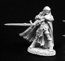 Highlander Heroine Reaper Miniatures Dark Heaven Legends Barbarian Warrior Melee