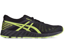 Asics FuzeX Lyte Black Yellow Mens Runnin Shoes Sneakers Trainers sz 9 FREE POST