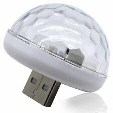 Multi Color USB Led Car Interior Lighting Kit Atmosphere Light Neon Lamps W9S7