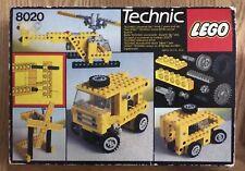 Vintage Technic Lego Universal Building Set 8020 Boxed & Instructions