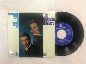 "THE RIGHTEOUS BROTHERS SINGLE 7"" EP DESENCADENANDO MELODIAS 1965 VINYL JUSTINE"