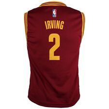 Kyrie Irving jugador de la NBA Cleveland Cavaliers Road Vino Réplica Jersey jóvenes S-XL