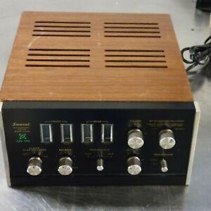Sansui QS-100 4 ch Rear Amplifier Works Great! 1971 Quadraphonic  Serviced