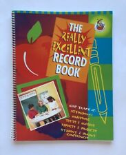 Teacher Record Book Gradebook Attendance Really Excellent Teaching Supplies