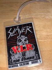 Slayer/Rob Zombie REPLICA Backstage Pass
