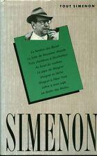 Livre tout Simenon Tome 1 France Loisirs 1989 book