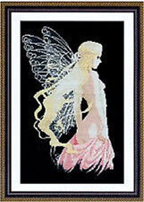 ** dragonfly faery**counted cross stitch kits