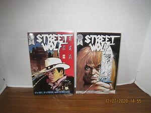 STREET WOLF #1, #2 1986