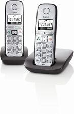 Gigaset E310 Duo Schnurloses Großtastentelefon Hörgeräte kompatibel -wn-