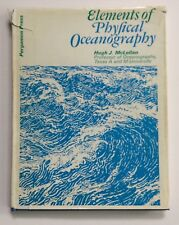 ELEMENTS OF PHYSICAL OCEANOGRAPHY by MCLELLAN, HUGH J.