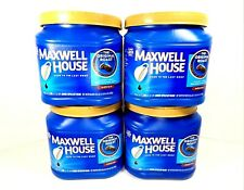 Empty Maxwell House Coffee Containers 4 Snap Lid Canisters Storage Arts Crafts