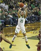"Sabrina Ionescu Oregon Ducks Autographed 16"" x 20"" Shooting Photograph"