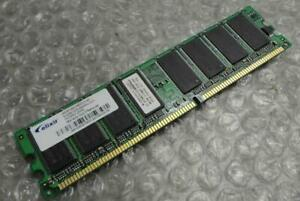 Original Genuine 512MB Elixir M2U51264DS8HC3G-5T 400Mhz Non-ECC Computer Memory