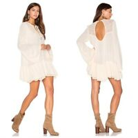 "Free People Women's FP ""One Night Victorian"" Tunic Top Mini Dress Small"
