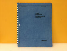 Tektronix 070-6167-00 2245 Portable Oscilloscope Operators Manual